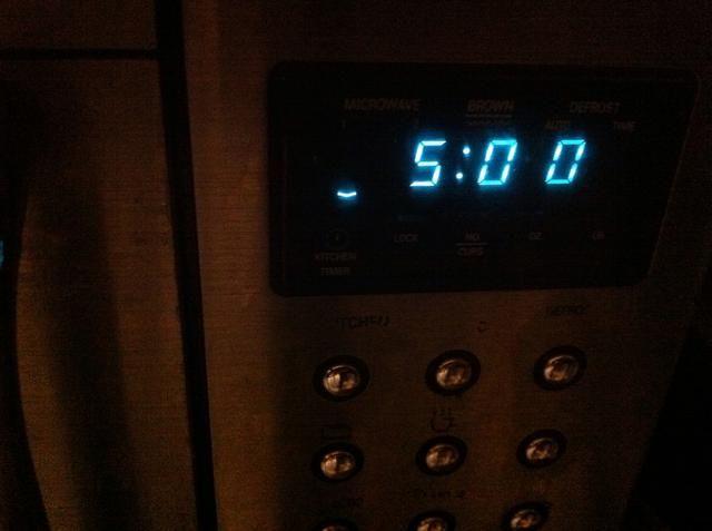 Ajuste del temporizador 5 min.