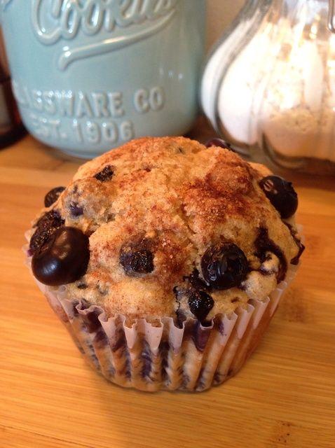 Cómo hacer Jumbo trigo integral Blueberry Muffins Receta