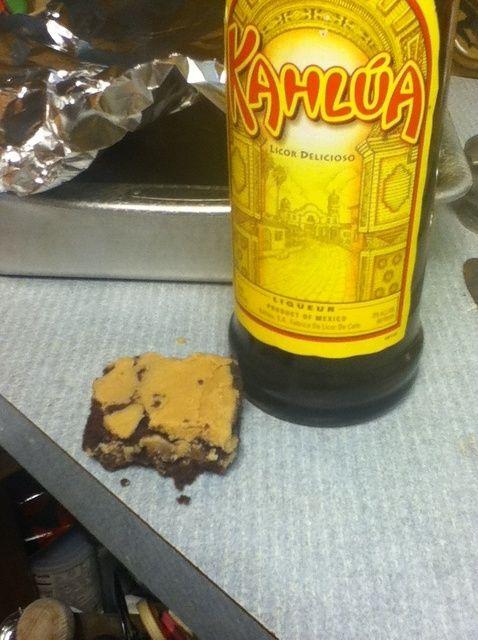 Cómo hacer Brownies Receta Kahlúa