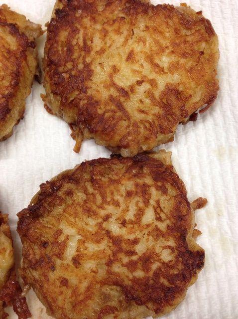 Cómo hacer Kartoffelpuffer (tortitas de patata) Receta