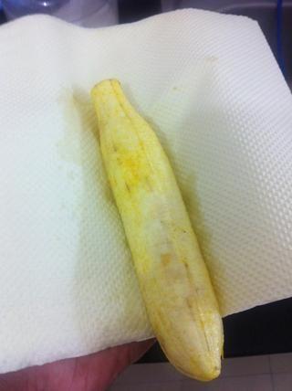 Seque los plátanos