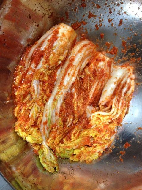 Cómo hacer Kimchi Receta