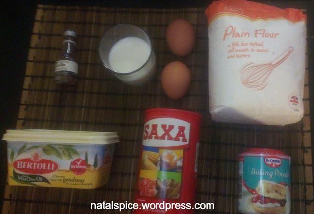 Obtener los ingredientes para la masa