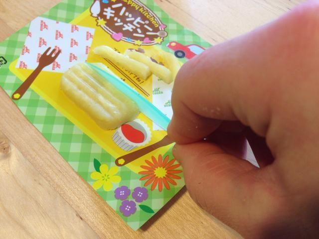Uso incluyó cuchillo para cortar en las líneas-Esto hace que sus diminutas patatas fritas super lindo !!!