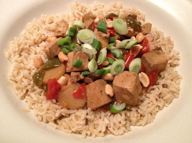 Cómo hacer Kung Pao tofu en la receta de cocción lenta