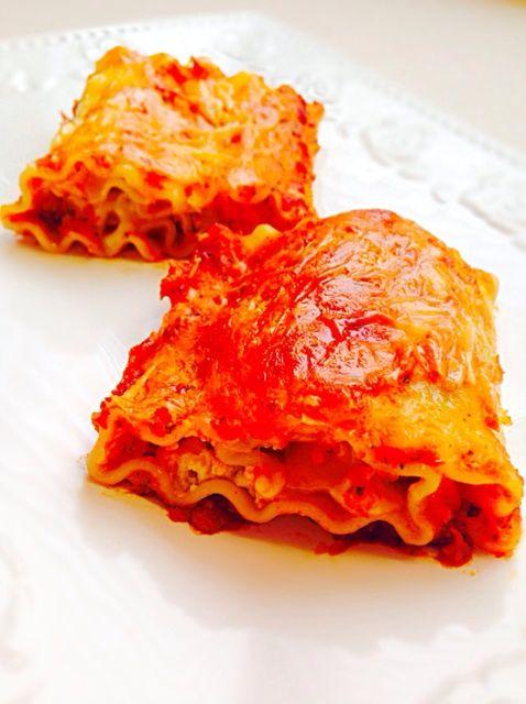 Cómo hacer Lasagna Rolls Receta
