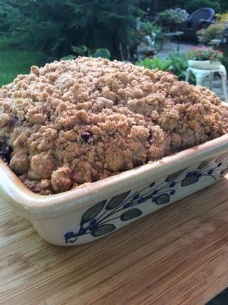¡Hecho! Niza y marrón dorado. Esta torta hornea hasta agradable y alta y se queda muy húmedo.