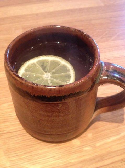 Cómo hacer de limón y jengibre té #Healthyeating Receta