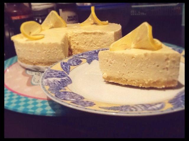 Cómo hacer Pastel de limón Queso Receta