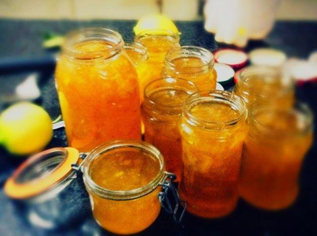 Cómo hacer mermelada de limón Receta