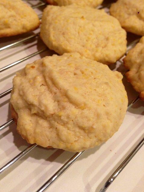 Cómo hacer limón Polenta Receta de las galletas