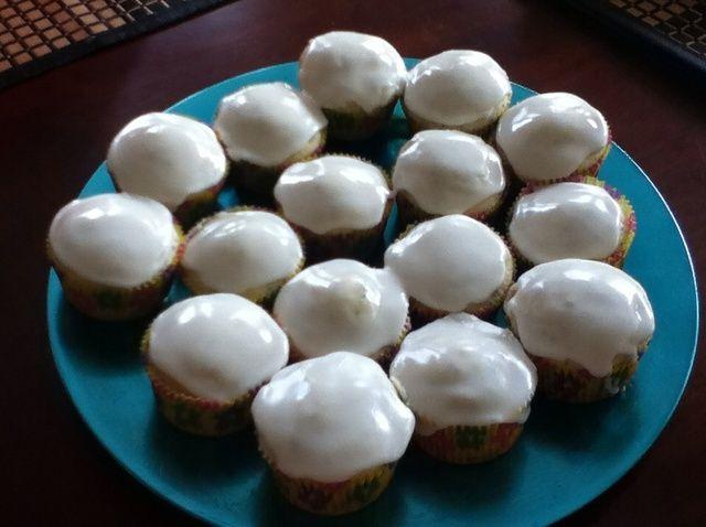 Cómo hacer limón Poppyseed Cupcakes Receta