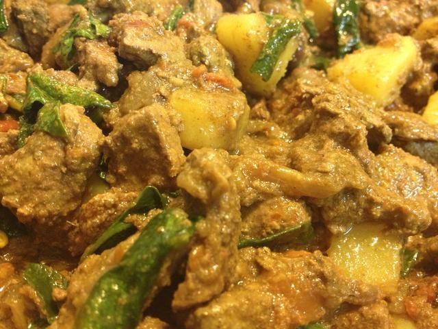 Tada !! Servir con arroz hervido llano o chapati ??????