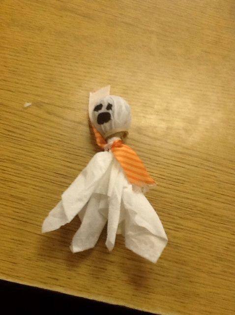 Cómo hacer fantasmas Lollipop de Juan