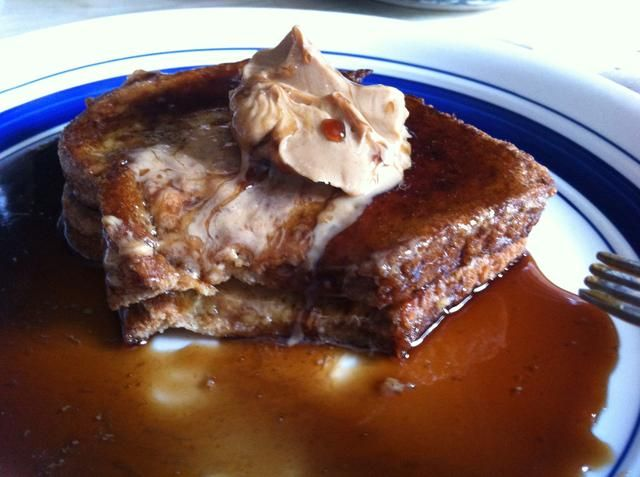 Echa un vistazo a esa fusión de mantequilla de maní. Yep's that good. Enjoy!