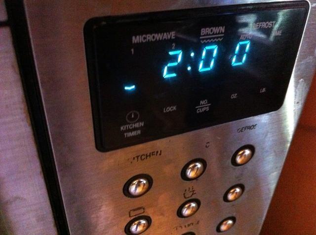 Ajuste del temporizador durante 2 minutos más.