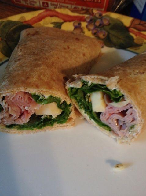 Cómo hacer Wraps almuerzo! Receta