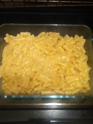 Distribuida uniformemente en una bandeja de horno y colocar en el horno durante unos 15-20 minutos.