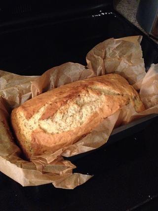 Este es el moderno pan justo a la salida del horno.