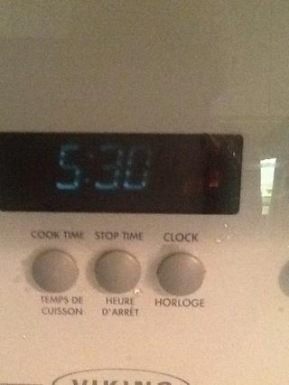 Mientras tanto precalentar el horno a 350 F.