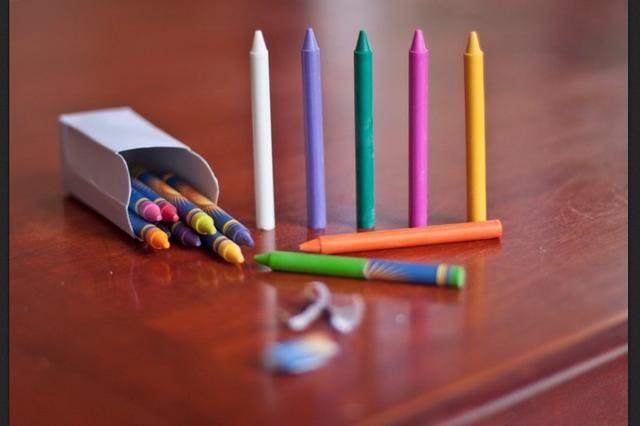 Seleccione los colores que'd like and peel them bare.