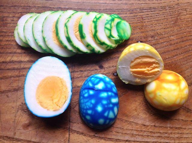 Cómo hacer Jaspeado Huevos Receta