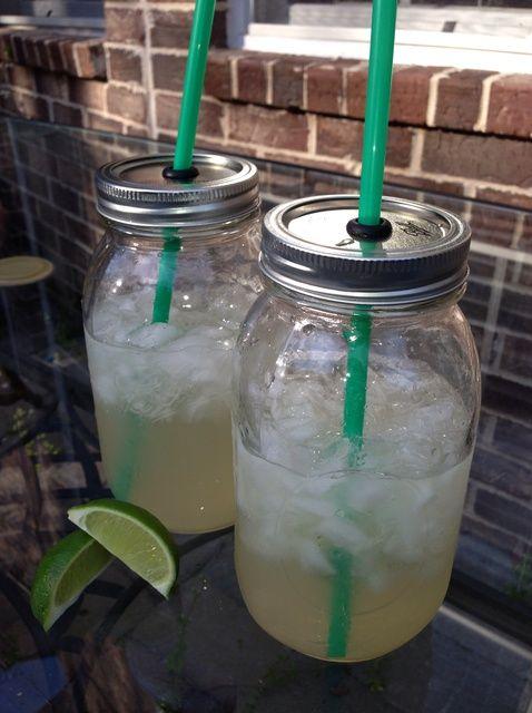 Cómo hacer Mason Copas tarro Drink