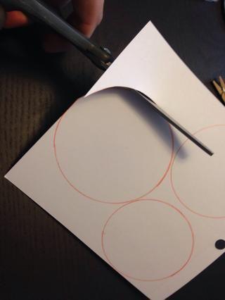 Cortar todos los círculos
