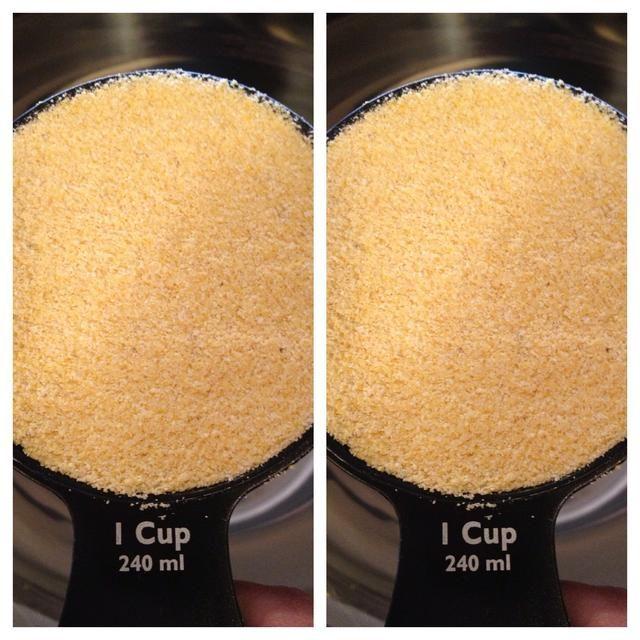 2 tazas de mezcla de pan de maíz