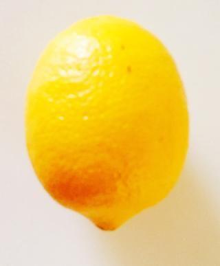 I cucharada de jugo de limón. Sustituya 1 cucharada de jugo de limón para una más sabor agrio.