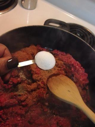 Añadir 1 cucharada de sal.