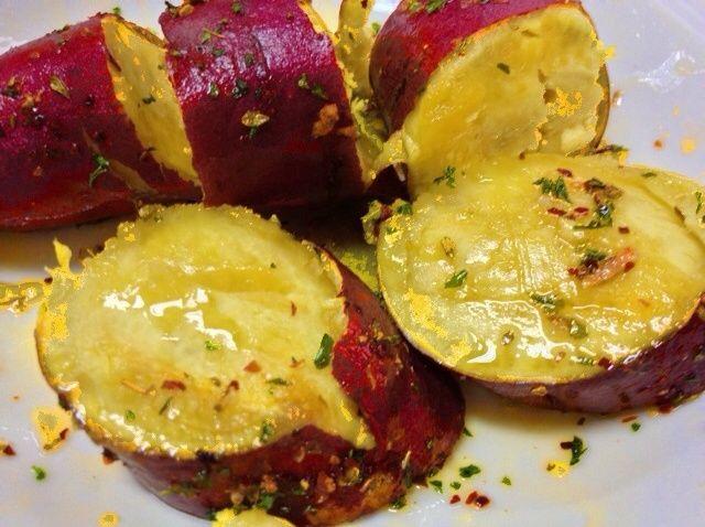 Cómo hacer Microondas al horno dulce receta de patatas
