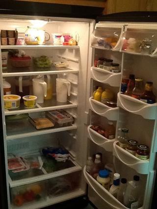Coloque Rice Krispies en el refrigerador para enfriar