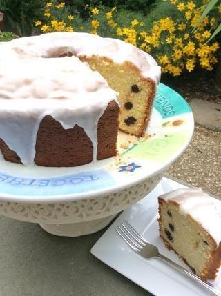 Mile High limón Blueberry Pound Cake. Delicioso. Enjoy❤️!