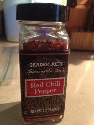 Pimientos de chile rojo!