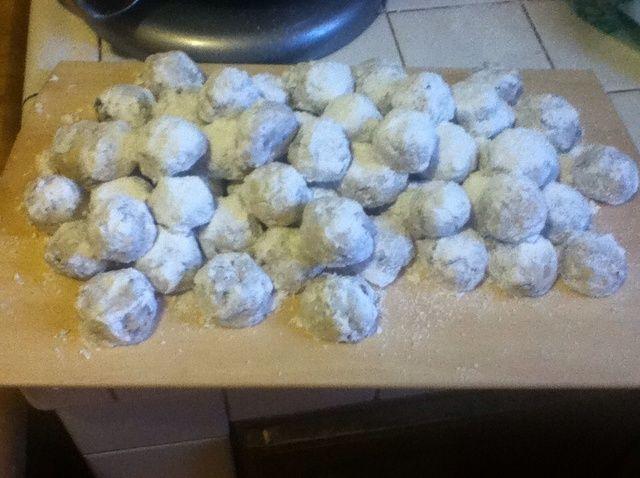Cómo hacer Mini Chip y Pecan Snowball cookies ?????? Receta