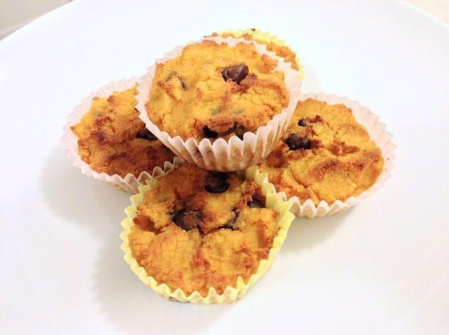 Cómo hacer Muffins de chocolate Mini Sin Gluten calabaza Receta