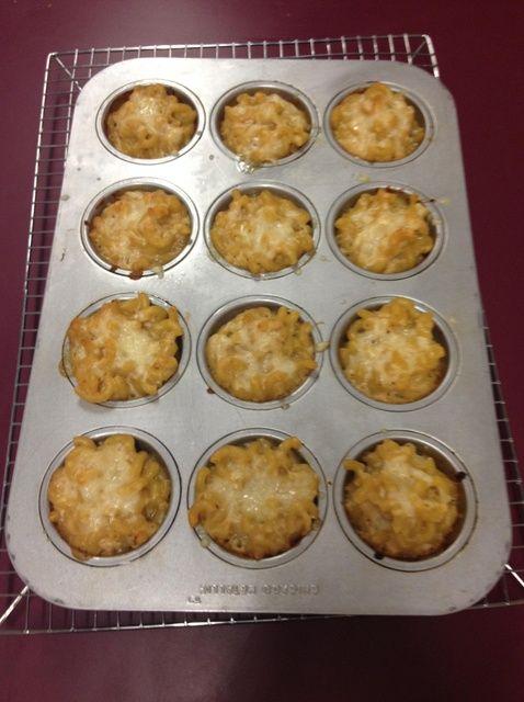 Cómo hacer Mini Mac & Cheese - Desrosiers Receta