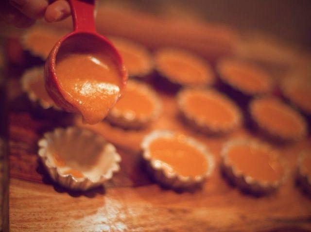 Cómo hacer mini calabaza Empanadas Receta