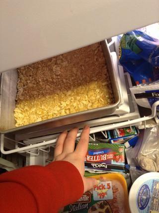 Pop en el congelador para un poco.