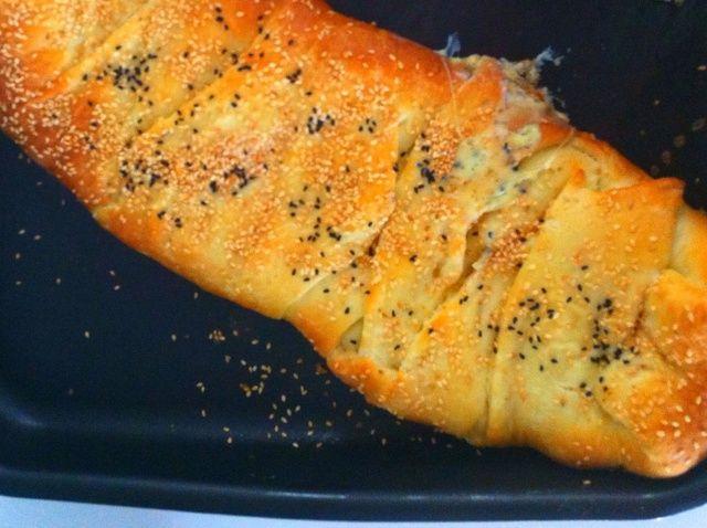 Cómo hacer mamá's Cheese-Braid Bread Recipe