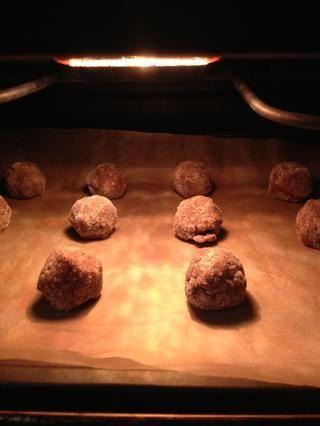 Galletas en el horno ahora! ¡Hurra! -)