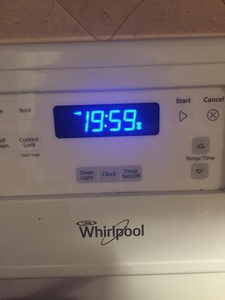 Cocer en el horno durante 20 minutos.