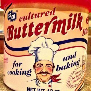 Este es un elemento básico en mi cocina! Utilice en su lugar de suero de leche, siguiendo las instrucciones pkg.