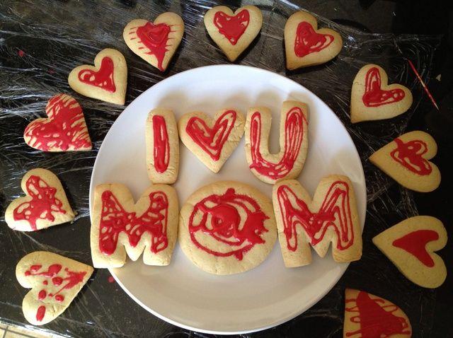 Cómo hacer que la madre's Day Sugar Cookies Recipe