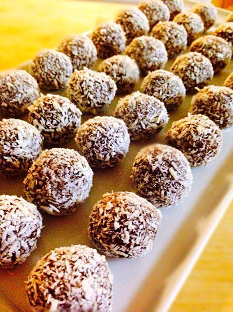Cómo hacer Mouthwatering Bolas del chocolate Receta