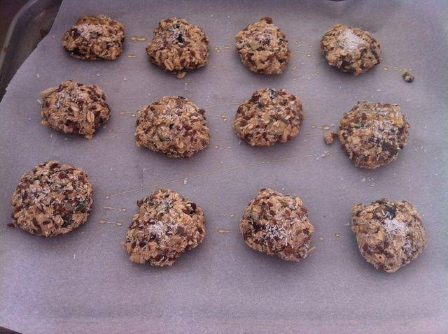 Cómo hacer Muesli Receta de las galletas