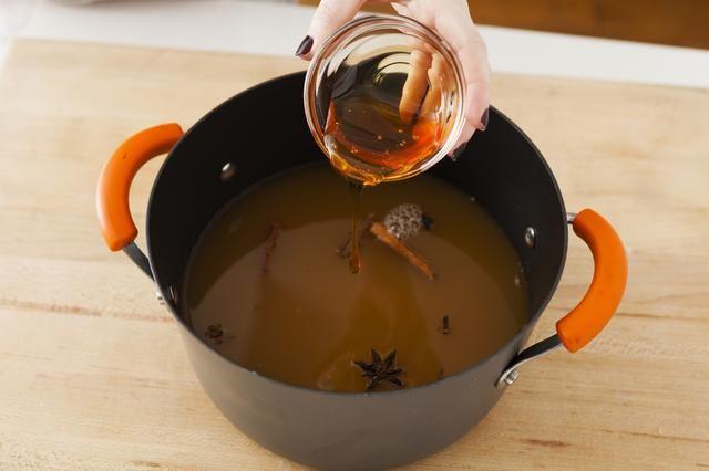 Agregar la miel.
