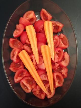 Añadir las 2 zanahorias