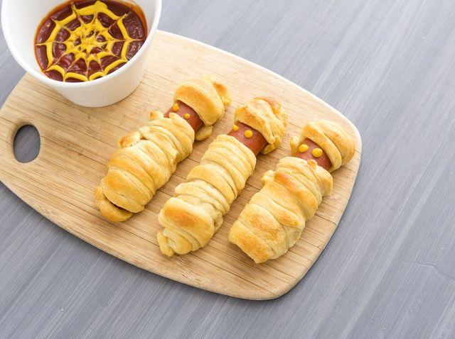Cómo hacer momia Hot Dogs Receta